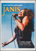 """Movie Posters:Rock and Roll, Janis (Universal, 1975). Italian 2 - Foglio (39"""" X 55""""). Rock andRoll.. ..."""