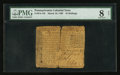 Colonial Notes:Pennsylvania, Pennsylvania March 10, 1769 10s PMG Very Good 8 Net.. ...