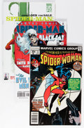 Modern Age (1980-Present):Superhero, Spider-Man Related Short Box Group (Marvel, 1978-2005) Condition:Average NM-....