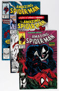 Modern Age (1980-Present):Superhero, The Amazing Spider-Man Box Lot (Marvel, 1987-98) Condition: AverageNM....
