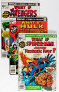 Modern Age (1980-Present):Superhero, What If? Box Lot (Marvel, 1977-93) Condition: Average NM-....
