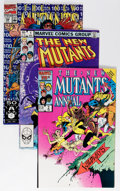 Modern Age (1980-Present):Superhero, The New Mutants Near Complete Run Group (Marvel, 1983-91)Condition: Average NM.... (Total: 105 Comic Books)