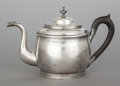 Silver Holloware, American:Tea Pots, A C.A. BURNETT SILVER TEAPOT. Marks: C.A. BURNETT. 7-1/8inches high (18.1 x 28.6 cm). 24.33 troy ounces. ...