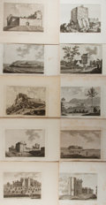 Books:Prints & Leaves, Group of Ten Engravings Depicting European Castles. Each measuresapproximately 9.5 x 12 inches. All ex-library, with blinds...