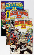Modern Age (1980-Present):Superhero, Secret Wars II #1-9 Long Box Group (Marvel, 1985-86) Condition:Average NM....