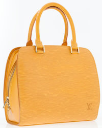 Louis Vuitton Yellow Epi Leather Pont Neuf Bag