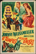 "Movie Posters:Adventure, The Lost Tribe (Columbia, 1949). Spanish One Sheet (27"" X 41"").Adventure.. ..."