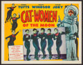 """Movie Posters:Science Fiction, Cat-Women of the Moon (Astor Pictures, 1954). Lobby Card (11"""" X14""""). Science Fiction.. ..."""
