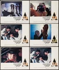 A Clockwork Orange (Warner Brothers, 1971). British Lobby Cards (6). Science Fiction. ... (Total: 6 Items)