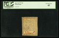 Colonial Notes:Pennsylvania, Pennsylvania April 10, 1777 3d PCGS Extremely Fine 45.. ...