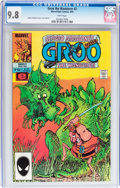 Modern Age (1980-Present):Humor, Groo the Wanderer #2 (Marvel, 1985) CGC NM/MT 9.8 White pages....
