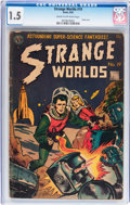 Golden Age (1938-1955):Science Fiction, Strange Worlds #19 (Avon, 1955) CGC FR/GD 1.5 Cream to off-whitepages....