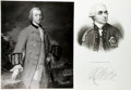 Books:Americana & American History, [American Heritage Archives - American Revolution].Two PhotographicReprints of Paintings of General Henry Clinton. One take...