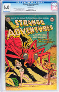 Golden Age (1938-1955):Science Fiction, Strange Adventures #30 (DC, 1953) CGC FN 6.0 Off-white pages....