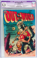 Golden Age (1938-1955):Science Fiction, Out of This World #1 (Avon, 1950) CGC Apparent FN- 5.5 Slight (A)Off-white pages....