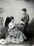 Books:Americana & American History, [American Heritage Archives]. E. E. Henry. PhotographicReproduction of William Cody and His Wife, Louisa. Originally taken...