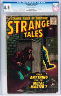Silver Age (1956-1969):Horror, Strange Tales #56 (Atlas, 1957) CGC VG+ 4.5 Off-white to whitepages....