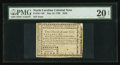 Colonial Notes:North Carolina, North Carolina May 10, 1780 $250 Quaerenda Pecunia Primum Est. PMGVery Fine 20 Net.. ...