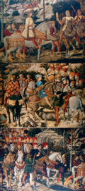 Books:Americana & American History, [American Heritage Archives]. Three Photographic Reprints ofBenozzo Gozzoli's Murals in the Palazzo Medici. Each Measures r...
