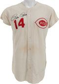 Baseball Collectibles:Others, 1971 Pete Rose Game Worn Cincinnati Reds Jersey, MEARS A9.5....