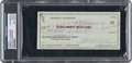 Baseball Collectibles:Others, 1971 Roberto Clemente Signed Personal Check, PSA/DNA Authentic....