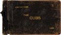 "Autographs:Photos, 1930 Chicago Cubs Signed Photograph Album Belonging to Lewis ""Hack"" Wilson...."