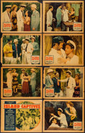 """Movie Posters:Adventure, Island Captives (Ira H. Simmons, 1937). Lobby Card Set of 8 (11"""" X14""""). Adventure.. ... (Total: 8 Items)"""