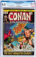 Bronze Age (1970-1979):Adventure, Conan the Barbarian #12, 13, and 15 CGC-Graded Group (Marvel, 1971-72).... (Total: 3 Comic Books)
