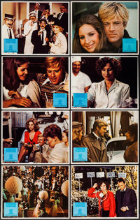 """The Way We Were (Columbia, 1973). Lobby Card Set of 8 (11"""" X 14""""). Romance. ... (Total: 8 Items)"""