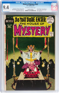 Bronze Age (1970-1979):Horror, House of Mystery #202 (DC, 1972) CGC NM 9.4 Off-white to whitepages....