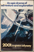 "Movie Posters:Science Fiction, 2001: A Space Odyssey (MGM, 1968). Poster (40"" X 60""). ScienceFiction.. ..."