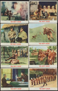 """Movie Posters:War, The Dirty Dozen (MGM, 1967). Lobby Card Set of 8 (11"""" X 14""""). War..... (Total: 8 Items)"""