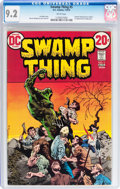 Bronze Age (1970-1979):Horror, Swamp Thing CGC-Graded Group (DC, 1973-77).... (Total: 4 Comic Books)