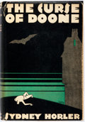 Books:Mystery & Detective Fiction, Sydney Horler. The Curse of Doon. New York: Mystery League,1930. First edition. Publisher's binding and dust jacket...