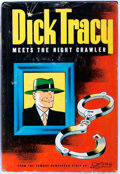 Books:Mystery & Detective Fiction, Chester Gould. Dick Tracy Meets the Night Crawler.Wisconsin: Whitman, 1945. First edition. Publisher's binding and...