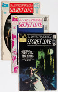 Bronze Age (1970-1979):Horror, Sinister House of Secret Love #1-4 Group (DC, 1971-72) Condition:Average FN.... (Total: 5 Comic Books)