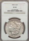 Morgan Dollars: , 1892-S $1 XF45 NGC. NGC Census: (957/1060). PCGS Population (984/965). Mintage: 1,200,000. Numismedia Wsl. Price for proble...