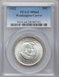 Commemorative Silver: , 1952 50C Washington-Carver MS64 PCGS. PCGS Population (2274/1570).NGC Census: (1648/1577). Mintage: 2,006,292. Numismedia ...