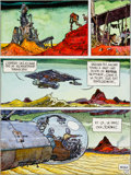 "Original Comic Art:Panel Pages, Moebius (Jean Giraud) ""It's a Small Universe"" Page 4 Original Art(1976)...."