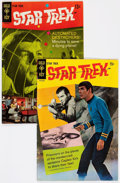 Silver Age (1956-1969):Science Fiction, Star Trek #2 and 3 Photo Back Cover Variants Group (Gold Key, 1968).... (Total: 2 Comic Books)