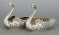 Silver Holloware, American:Other , A PAIR OF GORHAM SILVER AND SILVER GILT FIGURAL JARDINIÈRES .Gorham Manufacturing Co., Providence, Rhode Island, circa 1920...(Total: 2 )