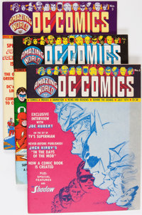 Amazing World of DC Comics #1-7 Group (DC, 1974-75) Condition: Average FN/VF.... (Total: 7 Items)