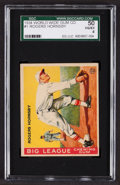 Baseball Cards:Singles (1930-1939), 1934 World Wide Gum Rogers Hornsby #1 SGC 50 VG/EX 4....