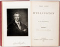 Books:Biography & Memoir, W.H. Maxwell. The Life of Wellington. London: Bickers, 1893. New edition. Twelvemo. Contemporary full red leather wi...
