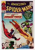 Silver Age (1956-1969):Superhero, The Amazing Spider-Man #17 (Marvel, 1964) Condition: VG/FN....