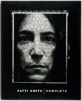Books:Music & Sheet Music, Patti Smith. SIGNED. Complete. New York: Doubleday, 1998.First edition, first printing. Signed by Smith on a 4 x ...