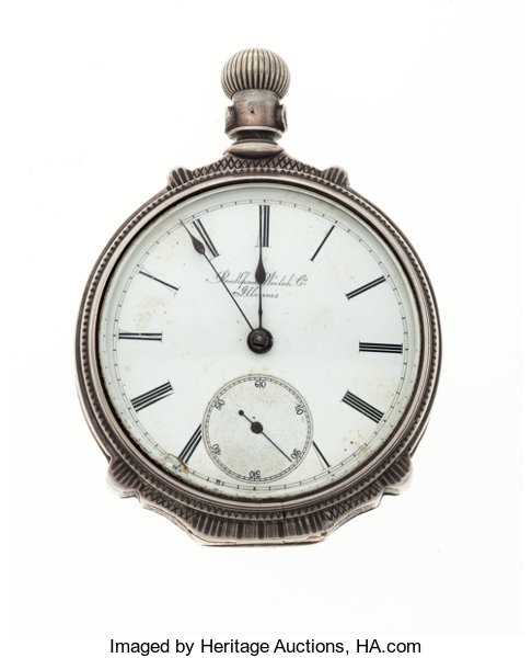 pocket watch value by serial number