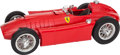 , MOTORIZED SCALE MODEL LANCIA FERRARI D-50 GRAND PRIX CAR SIGNED BYFANGIO. Length 38-1/2 inches (97.8 cm). Superbly built by...