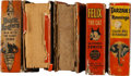 Big Little Book:Miscellaneous, Big Little Book Group (Whitman, 1933-45) Condition: Average FR....(Total: 5 Comic Books)