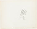 Animation Art:Production Drawing, Puppy Love Mickey Mouse Production Drawing Animation Art(Walt Disney, 1933)....
